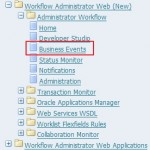 Oracle EBS Service Invocation Framework (Business Events - SIF)